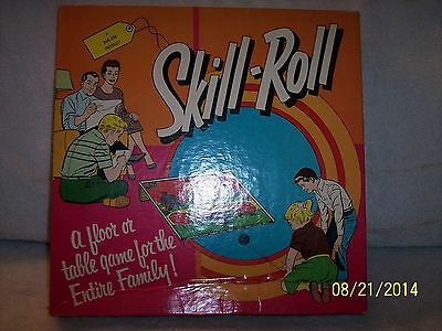 """VINTAGE SKILL-ROLL GAME COMPLETE 1950's ??? """"NEAT"""""""