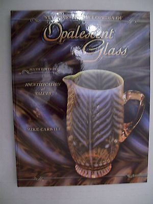 OPALESCENT GLASS PRICE GUIDE COLLECTOR BOOK Hobbs Northwood Dugan Fostoria MORE