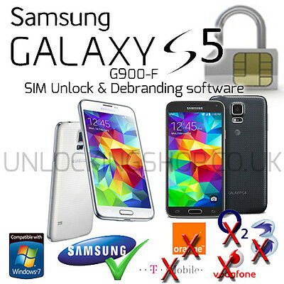 Samsung Galaxy S5 (SM-G900F) SIM Unlock and Debranding Software
