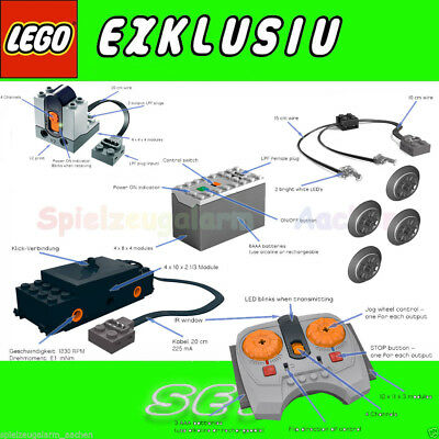 LEGO 10254 Eisenbahn IR Motor LED Power SET 88000 8884 8870 8879 88002 10233
