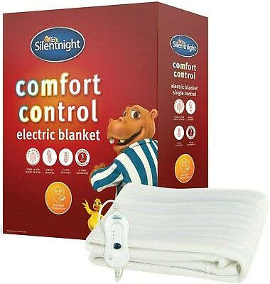 Silentnight Comfort Control Electric Blanket - All Sizes - from £16.99