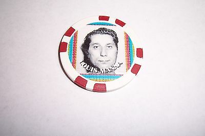 Louis Manna   Gangster  Collector Chip