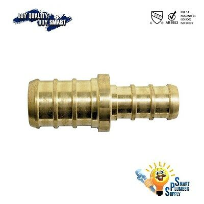 """Pack of 2pcs PEX FITTING Straight Reducing Coupling 3/4"""" X 1/2"""" (120-05)"""