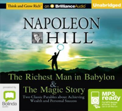 The Richest Man in Babylon & the Magic Story by Napoleon Hill Free Shipping!