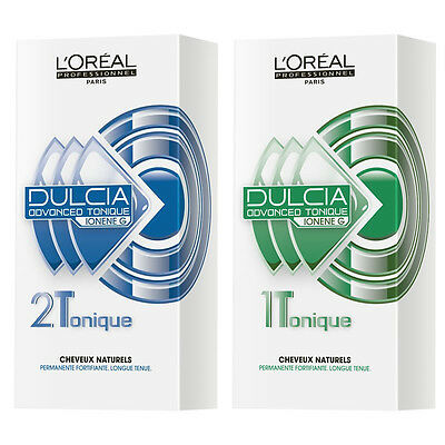 L'Oreal Dulcia Advanced Tonique Perm Lotion 1, 2 for Long Lasting Curls & Style