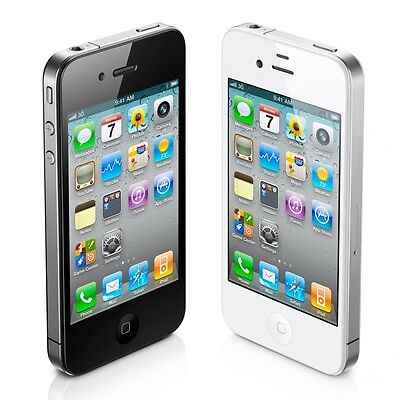 Apple iPhone 4S - 16GB - White/Black Unlocked GSM IOS Smartphone