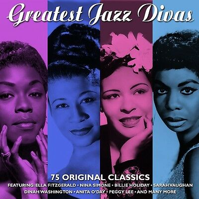 Greatest Jazz Divas VARIOUS ARTISTS Best Of 75 SONGS Music Collection NEW 3 CD