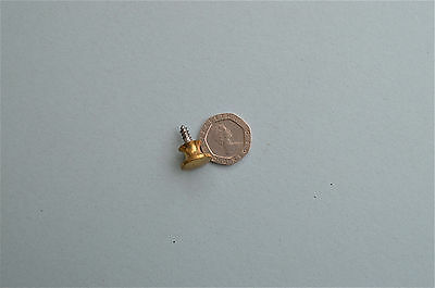Solid Brass Screw In Cabinet Handle Globe Wernicke Bookcase Door Knob Gwk5