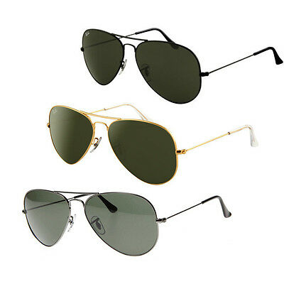 Ray-Ban RB3025 Aviator Sunglasses - Your Choice in Color and Size