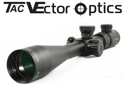Vector Optics Tactical 8-32x50E-SF Rifle Scope Glass MP Reticle 10 Yards Focus