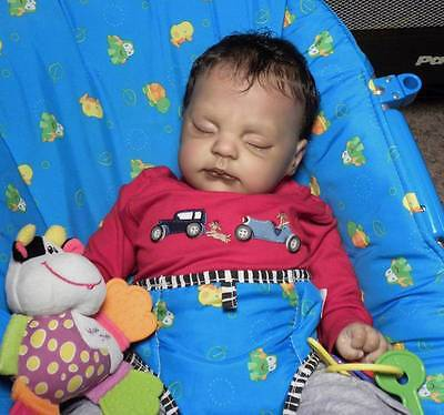 """Reborn Vinyl Doll Baby TRACY 21"""" by Donna Rubert KIT FOR YOU TO MAKE 2284"""
