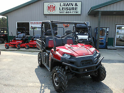 2012 Polaris Ranger XP® 800 Sunset Red LE w/4008 Miles New tires Good Condition!