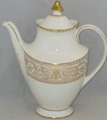 Royal Doulton Sovereign Coffee Pot & Lid