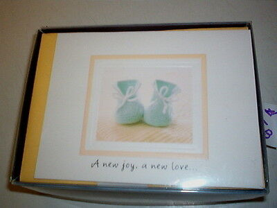 Hallmark Birth Announcements   Booties   20 Cards & Envelopes   #45B