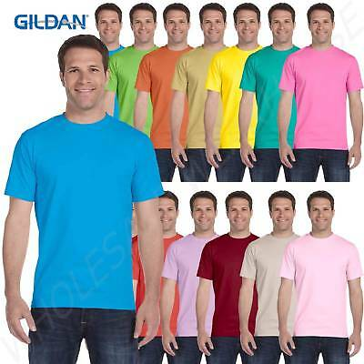 Gildan DryBlend Men's Short Sleeves Preshrunk 50/50 Cotton Big T-Shirt BG800