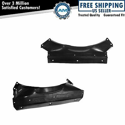 Radiator Fan Shroud Upper & Lower Pair Set for S10 Blazer Jimmy Sonoma Bravada