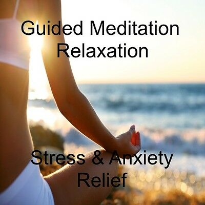 Stress & Anxiety Relief Guided Meditation Cd - Relaxation & Calming Meditation