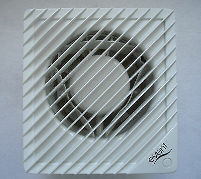 "Greenwood EVENT 100mm 4"" Axial Fan - EBB100  BASIC FAN FOR 100mm HOLE"