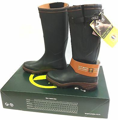 Aigle Parcours Vario 2 Wellies Wellingtons Anti-Fatigue Welly Boots