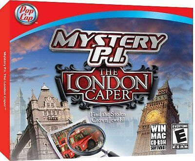 Mystery PI The London Caper PC New Sealed