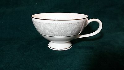 Imperial China W Dalton Whitney Footed Cup  Porcelain Gray Leaf Scroll