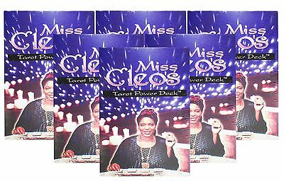 Miss Cleo's Egyptian Tarot Cards Fortune Telling Power Deck Lot of 6 New Decks