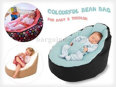 Unfilled Baby Bean Bag Portable Chair/Bed, Nursery for Infants Toddlers/Kids