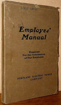 Employes' (Employees') Manual: Prepared for the Information of Our Employes