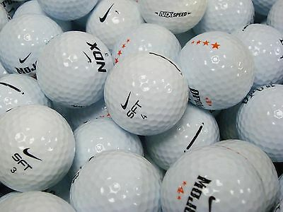 50 x NIKE GOLF BALLS - PEARL/AAA CONDITION *FANTASTIC VALUE OFFER**