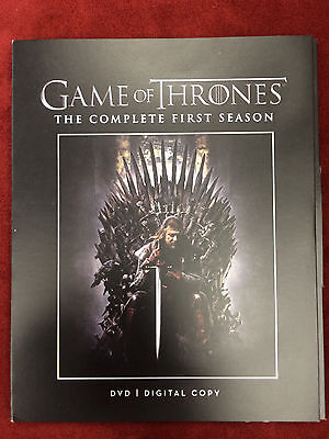 Game Of Thrones Complete Season 1, first , ONE on DVD ( 2-Disc set)