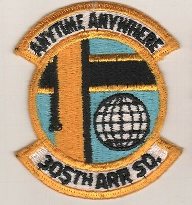 305th Air Refueling sq  USAF Patch