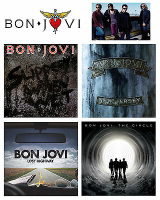 Bon Jovi - Top Selling Album Collage - 8x10 Color Photo