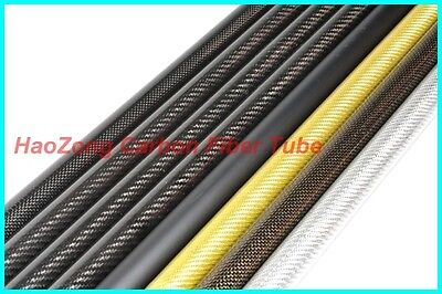 14MM OD x12 MM ID Carbon Fiber Tube 3k 500MM Long  (Roll Wrapped) carbon pipe