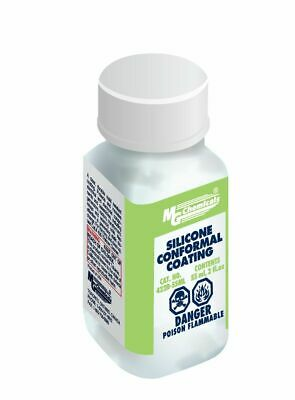 MG Chemicals 422B Conformal Coating Silicone with UV Indicator- 55 mL