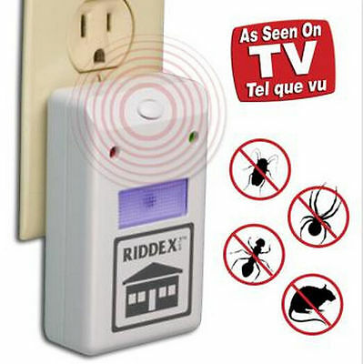 DZ14 Riddex Plus Electronic Pest Rodent Control Repeller 110V Hot Sale phne