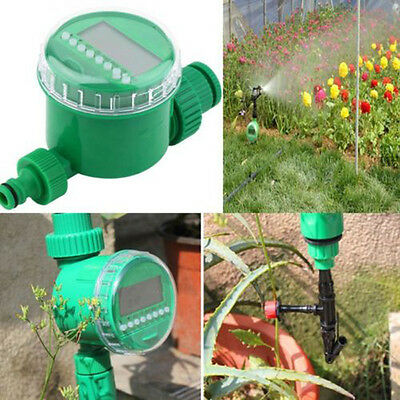 New Home Water Timer Garden Agriculture Irrigation Controller Green Free Ship