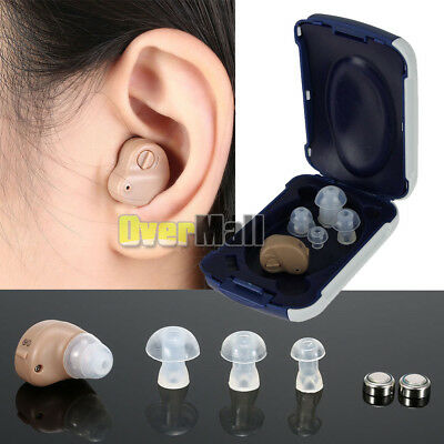 Small In The Ear Invisible Best Sound Amplifier Adjustable Tone Hearing Aids Aid