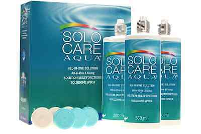 Solo Care Aqua 3x360ml SUPERPREIS 3er Set Sparset