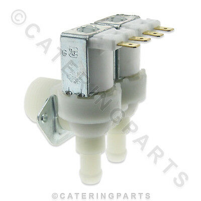 23010 TWIN / DOUBLE WATER INLET SOLENOID VALVE FOR BREMA ICE MACHINE 23502 240v