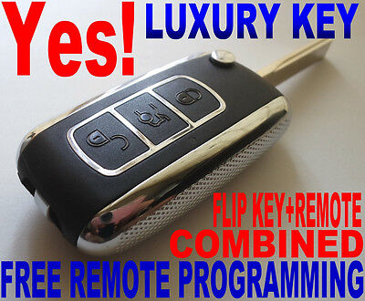 "Luxury Flip Key Remote For Bmw ""virgin"" Chip Never Been Coded Transponder Fob E6"