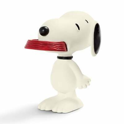 Schleich Peanuts Collection - Snoopy With Supper Dish 5.5cm Hand Painted Figure