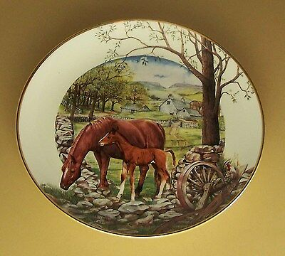 A Country Season of Horses FIRST DAY OF SPRING Plate Seasonal English Country