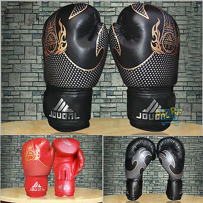 10oz MMA Fighting Muay Thai Boxing Sparring Punching Bag Training Mitts Gloves