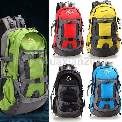 New Waterproof Outdoor Sports Hiking Camping Backpack Daypack Shoulder Bag