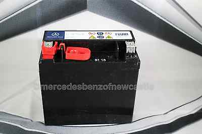 Genuine mercedes benz e class aux auxiliary battery 12v for Mercedes benz e320 battery