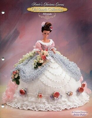 Miranda, Annie's Glorious Gowns Old South Collection crochet patterns