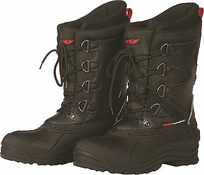 Fly Racing Aurora Snowmobile Boots Waterproof Insulated Snow Reflective Trim