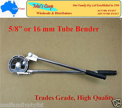 "5/8"" or 16mm Tube Bender,Plumbing Gas Air Condition Tools,Copper Aluminium Pipe"