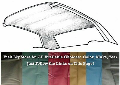 Ford Mustang Headliner Replacement Fastback 64-68 Red by PonyExpress
