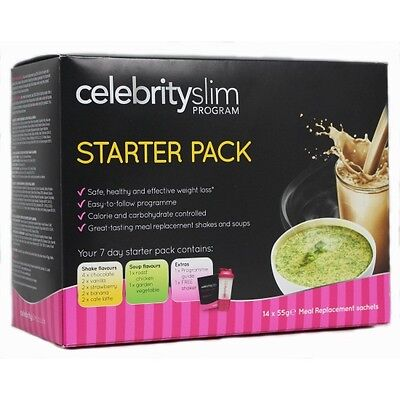 Celebrity Slim Starter Pack (Celebrity Weight Loss Programme) - Promo Price!!!!!